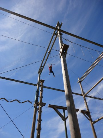 High Ropes And Raft Building The Beacon