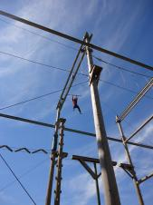 High Ropes and Raft Building