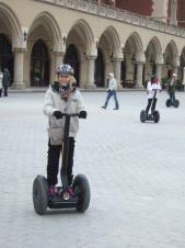 Krakow Trip, Day 2: Segways and Visting a Children's Home